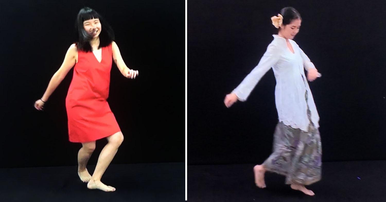singapore art week 2020 - dancing alone by susie wong