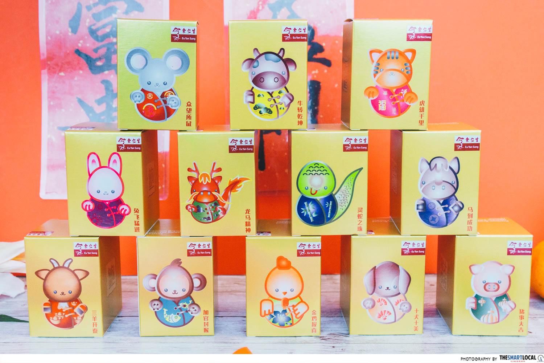 Limited-edition 12 Zodiac Premium Abalone Gift Set