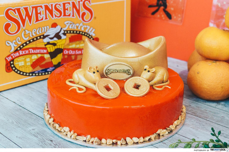 Swensen's - CNY ice cream cake