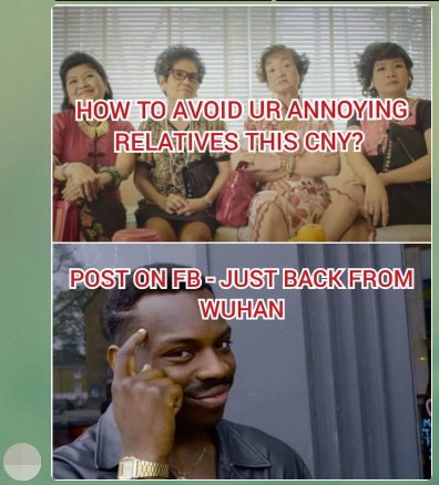 wuhan virus meme singapore