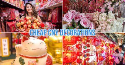 Chinese new year decorations Singapore