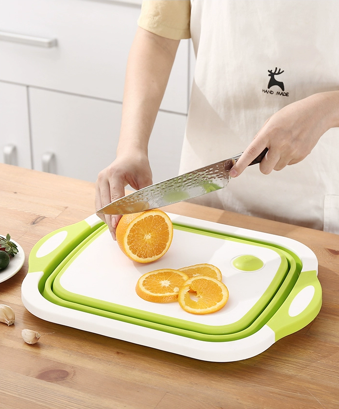 2 in 1 colander and chopping board