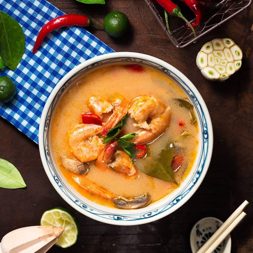 thai food tomyam cooking classes