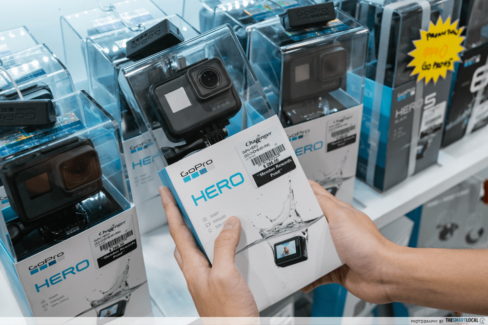 GoPro Hero at Challenger online sale