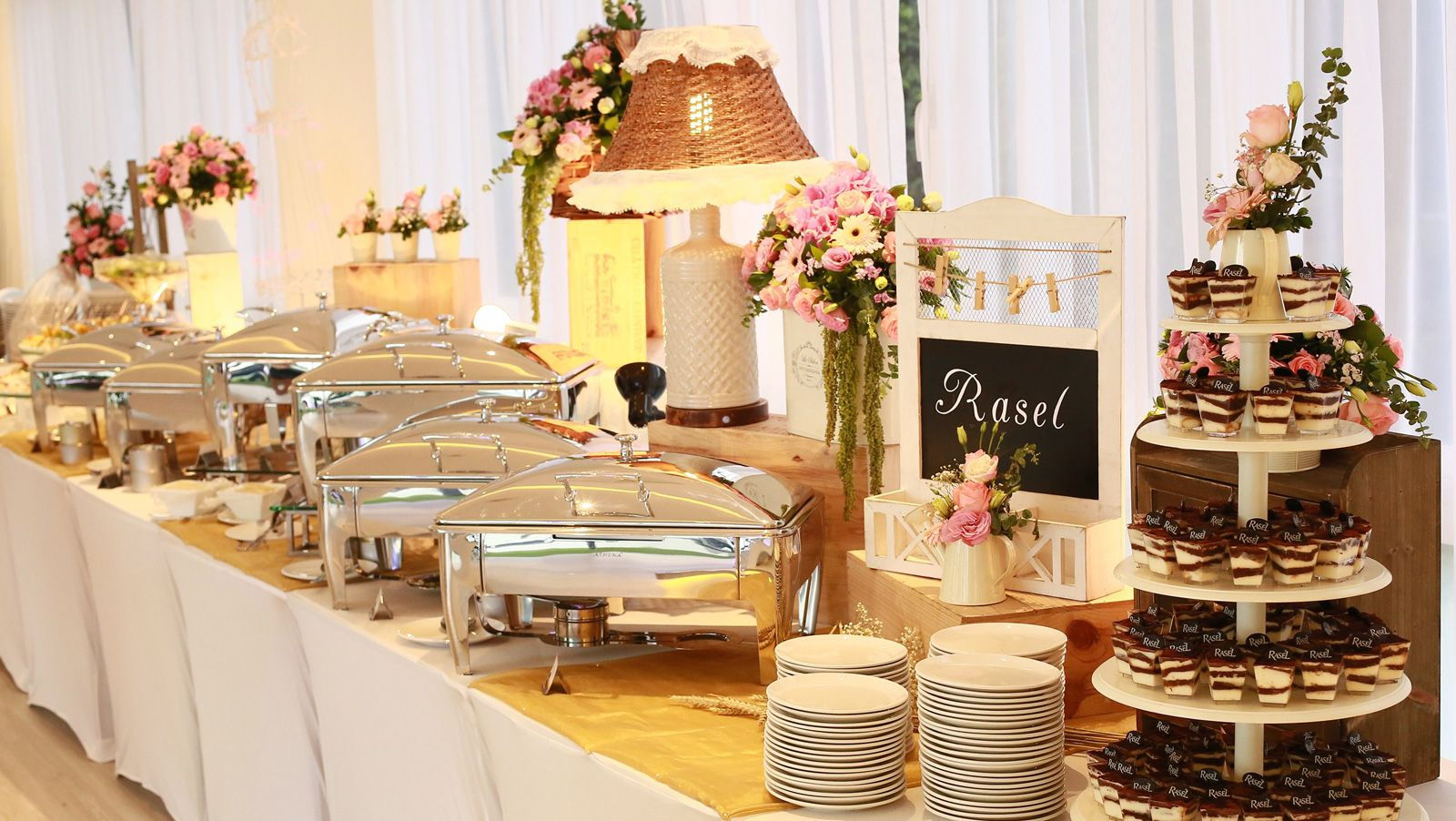 Donate leftover wedding food