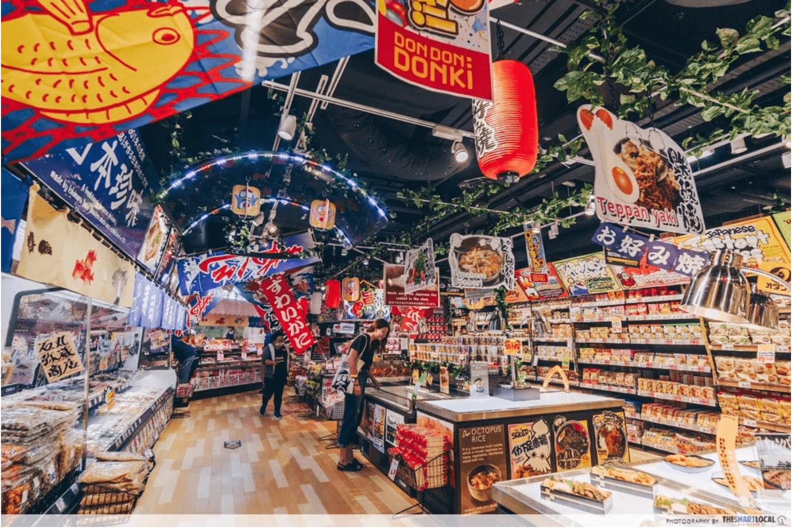 Japanese Supermarket: Don Don Donki