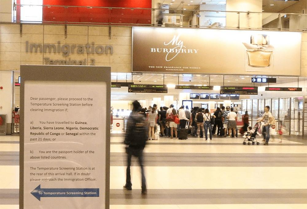 Ebola Singapore Changi Airport