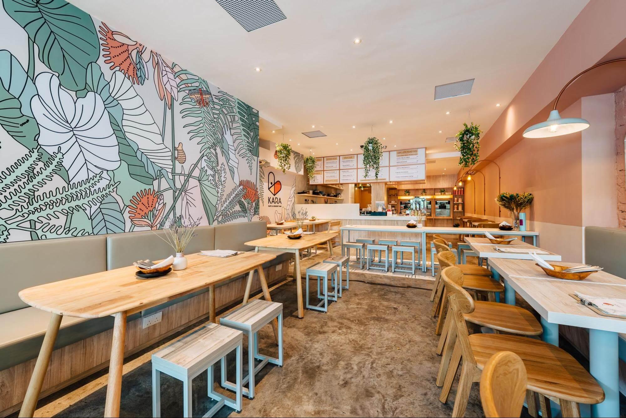 KARA Cafe Interior