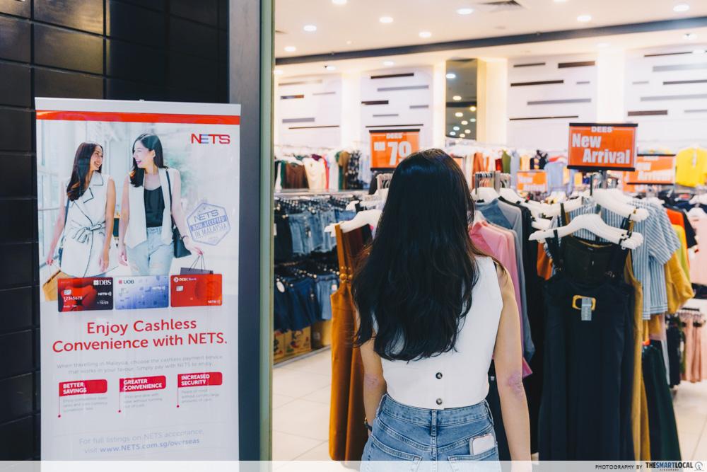 Shopping in JB