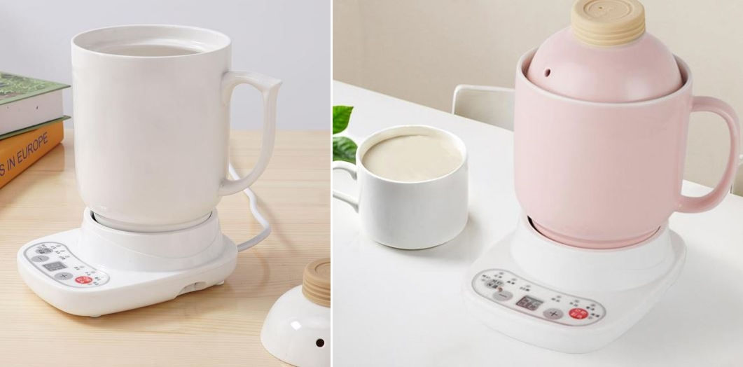 Self heating soup cup