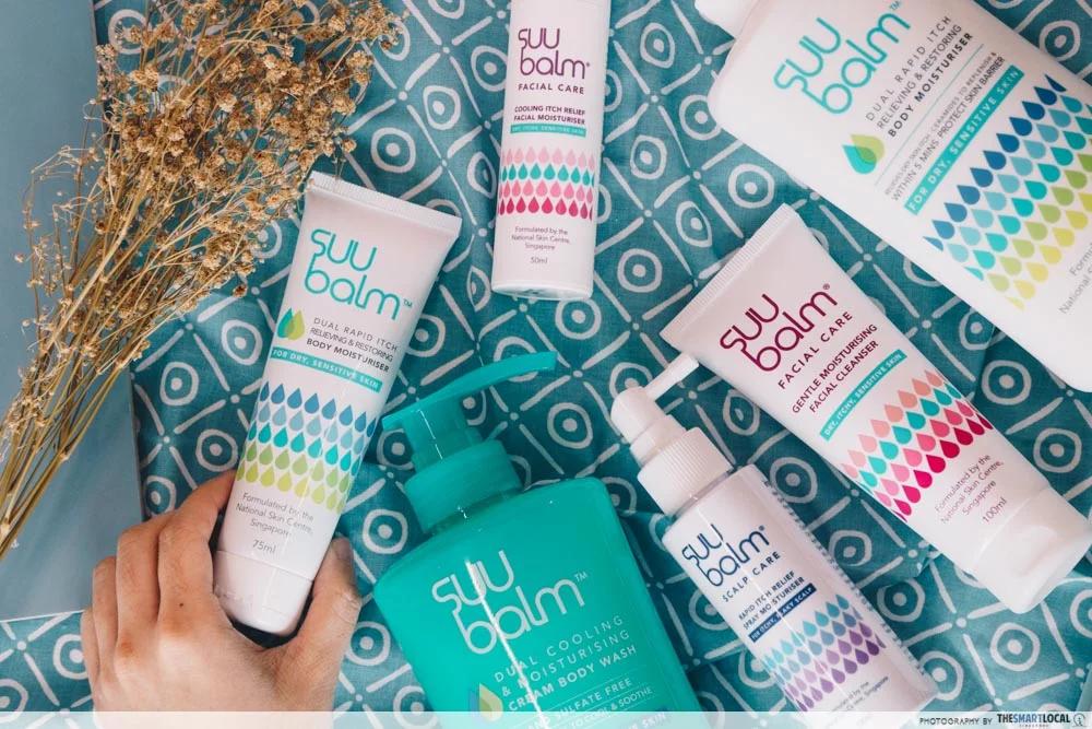 Suu Balm products