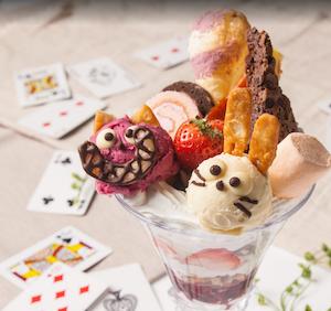 Alice in wonderland desserts