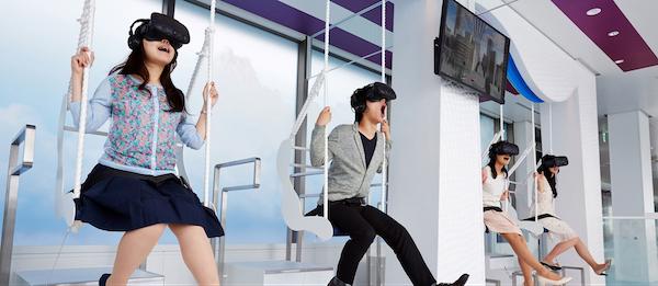 Ikebukuro - VR Swing Coasters