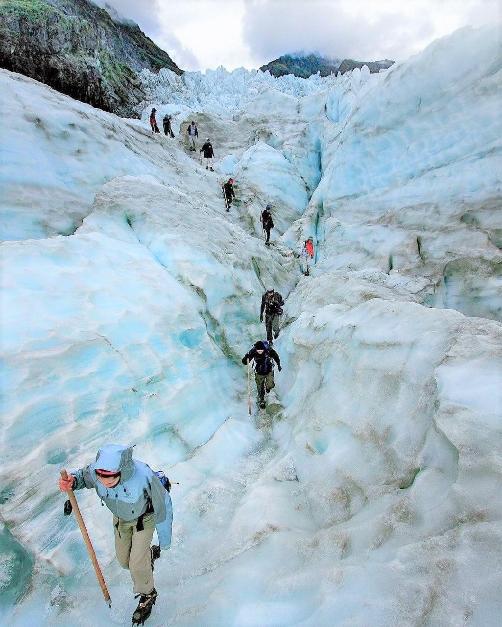 glacier hike new zealand