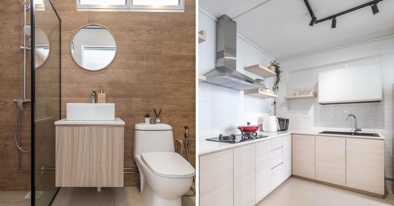 hdb renovation design bathroom 4 room toa payoh