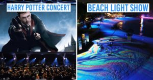harry potter concert beach sentosa