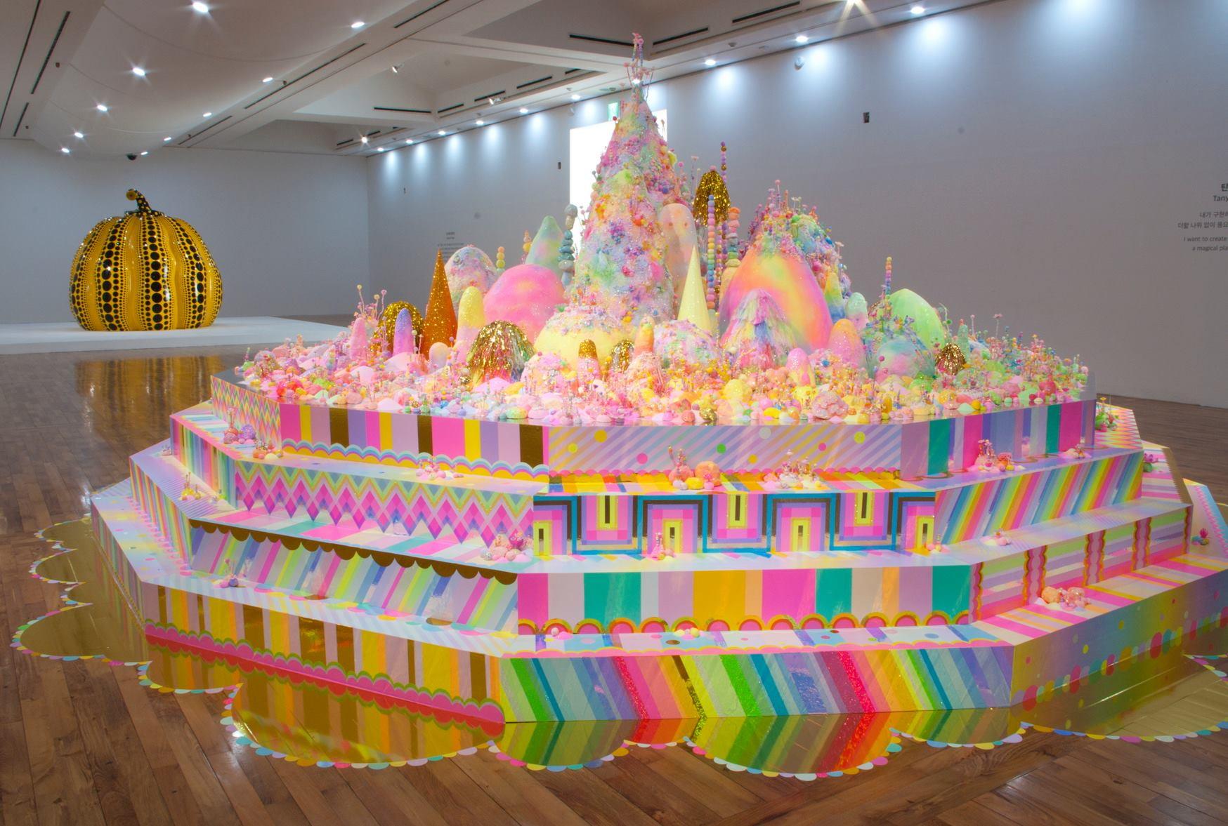 pip & pop rainbow exhibition