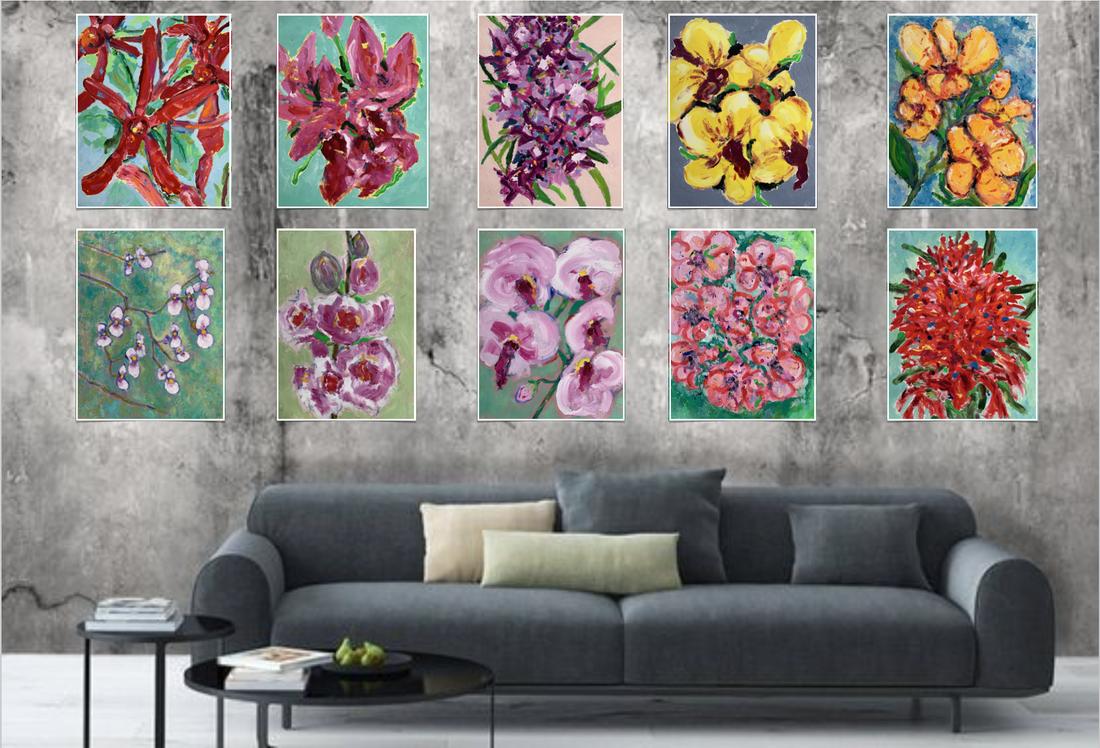 sing-nature art paintings