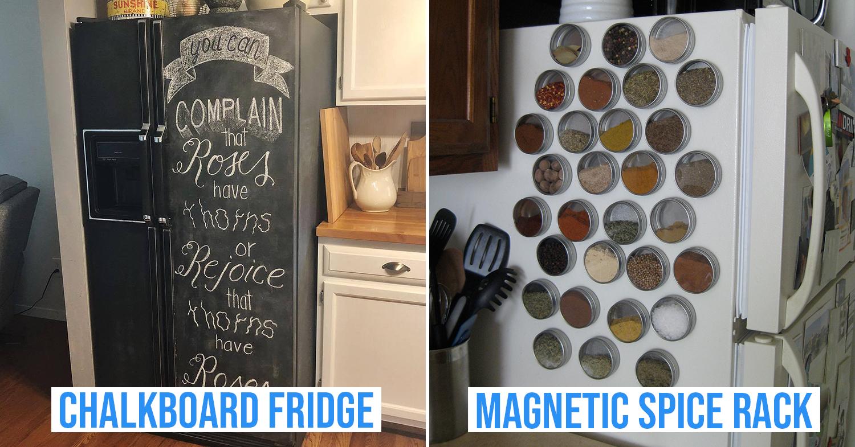 cover image of fridge accessories