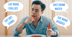 Dieting myths care to go beyond