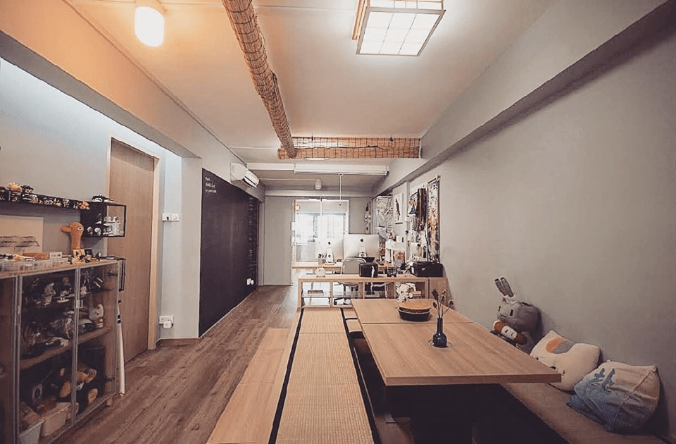 HDB renovation idea for Japanese-styled dining room