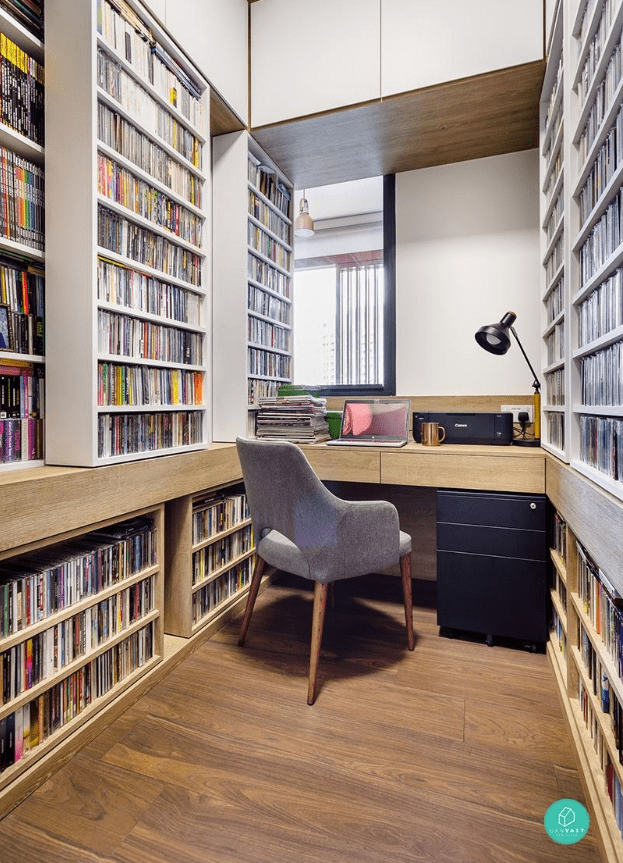 Book lover's study