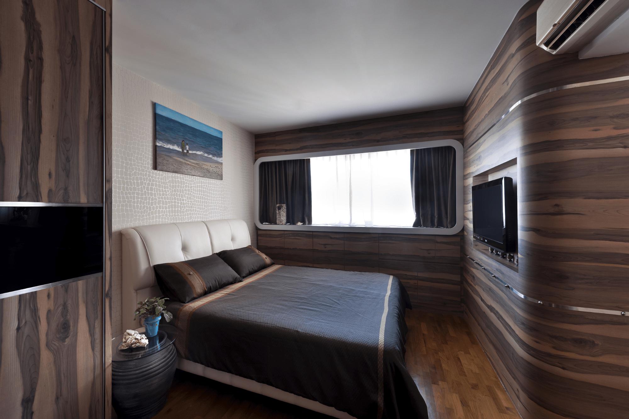 HDB renovation idea for Boat-inspired bedroom