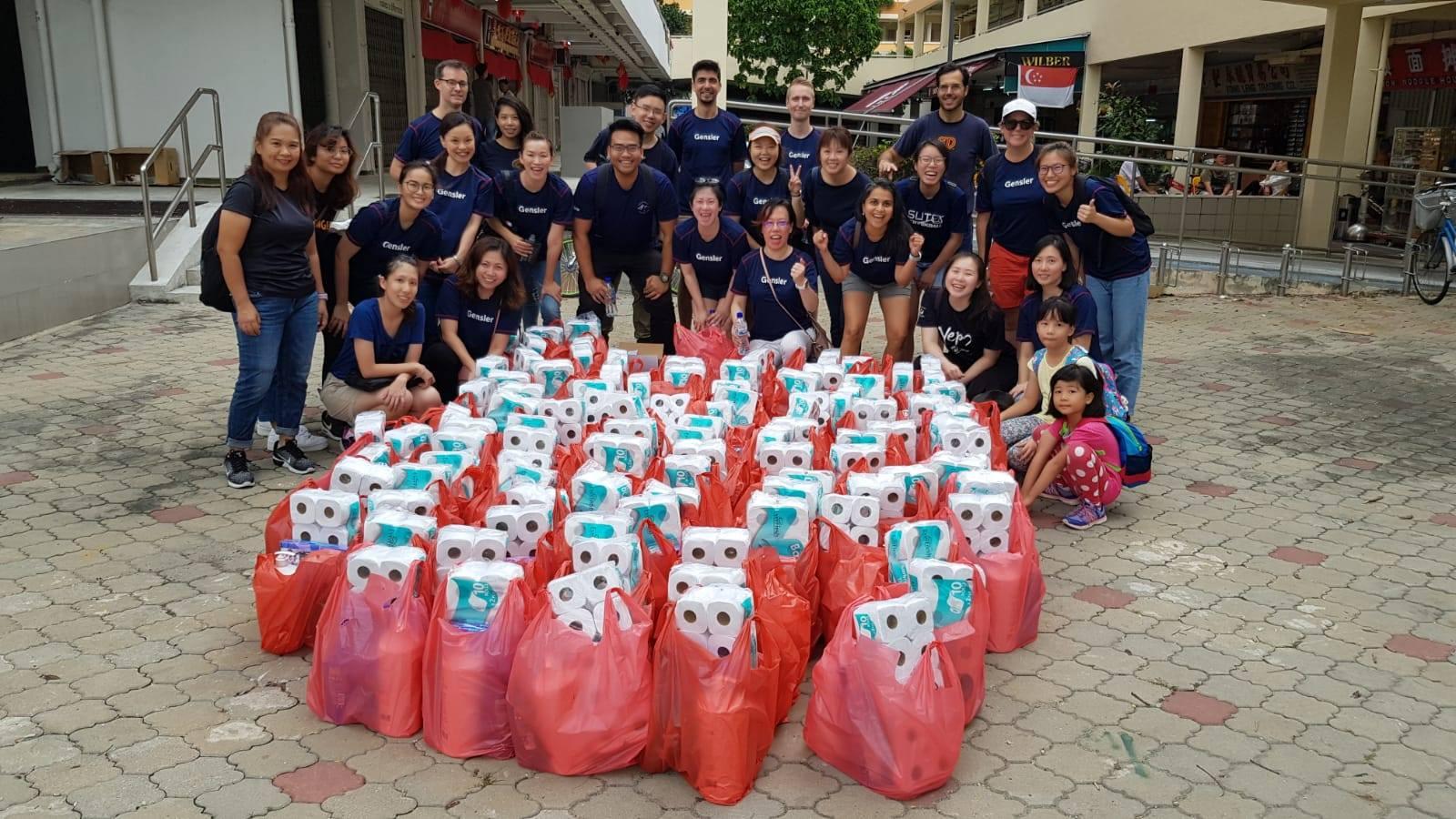 kindness mart volunteers