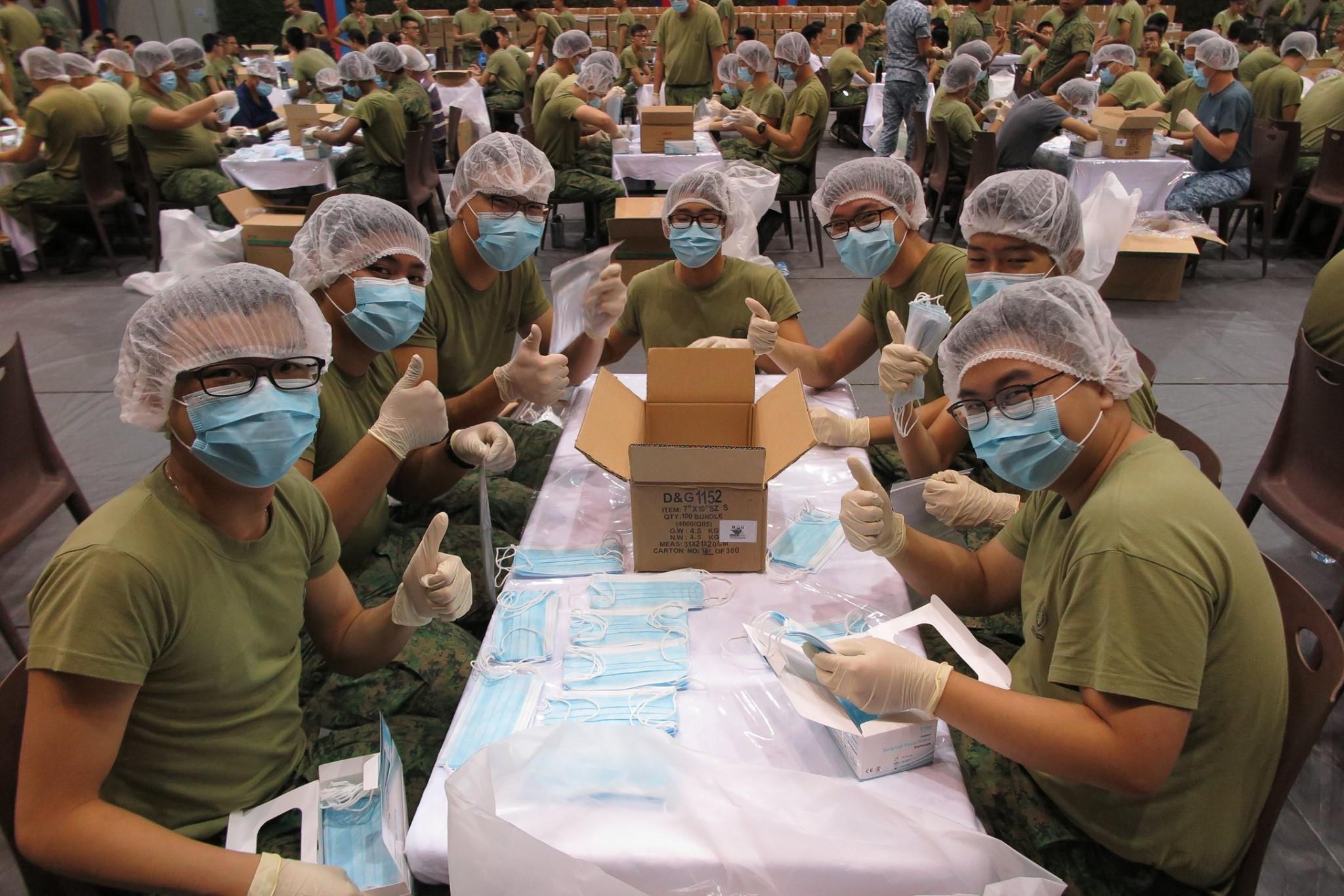 SAF packing masks