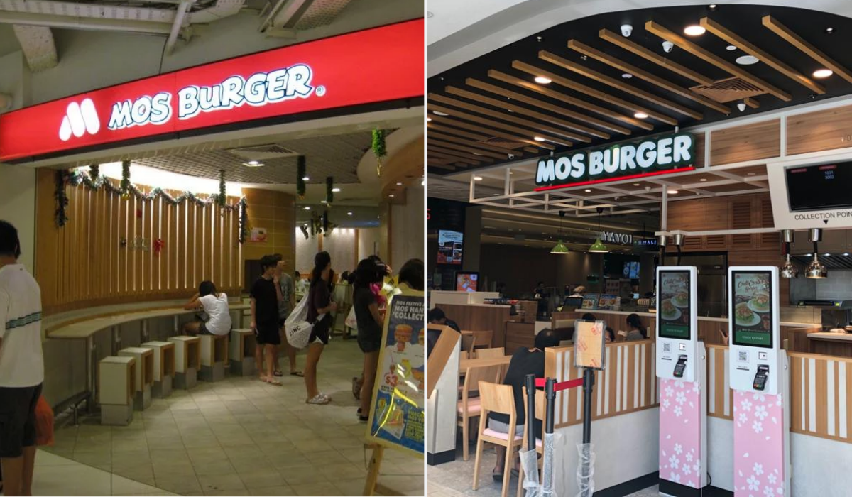 mos burger - longest surviving fast food chains in Singapore