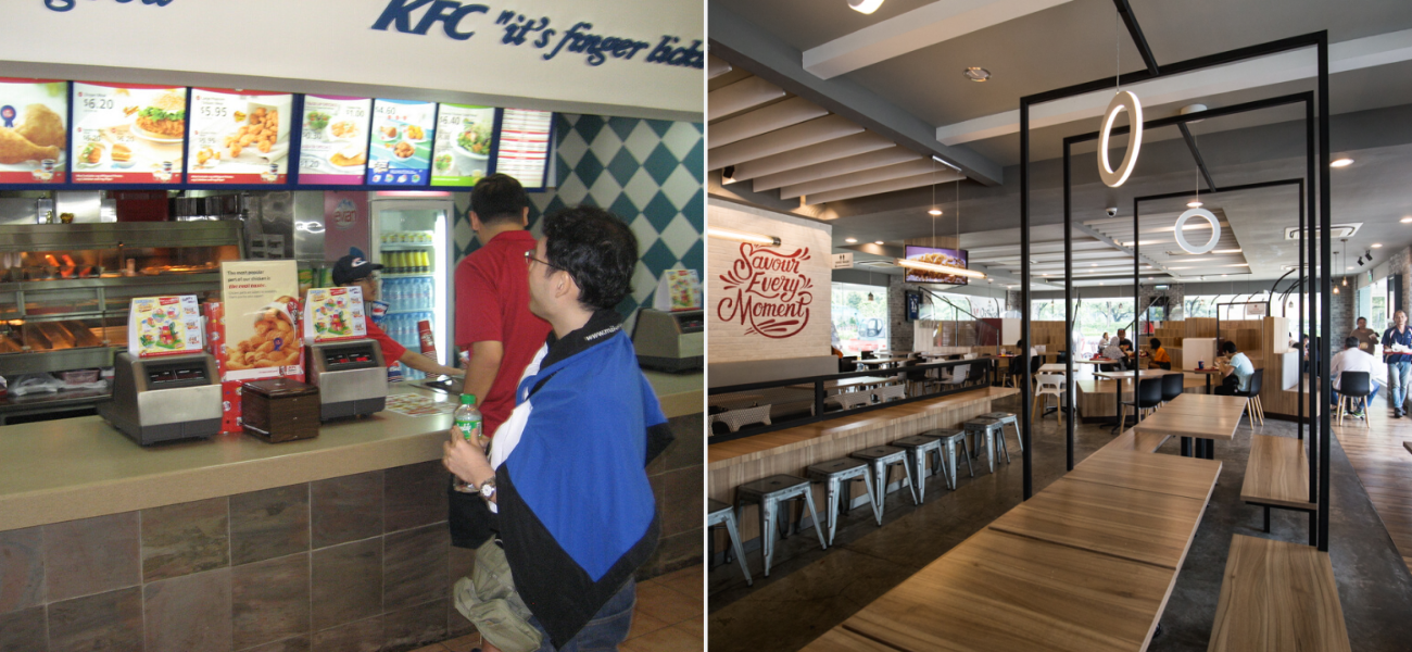 KFC - Longest surviving fast food chains in Singapore