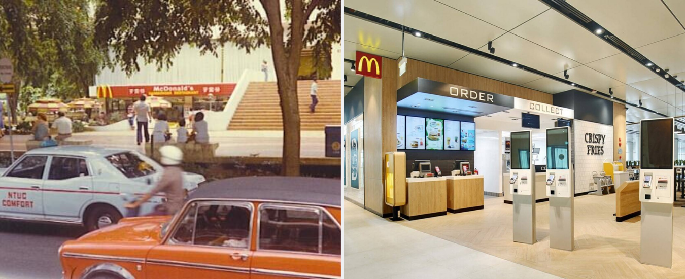mcdonald's - longest surviving fast food chains in Singapore