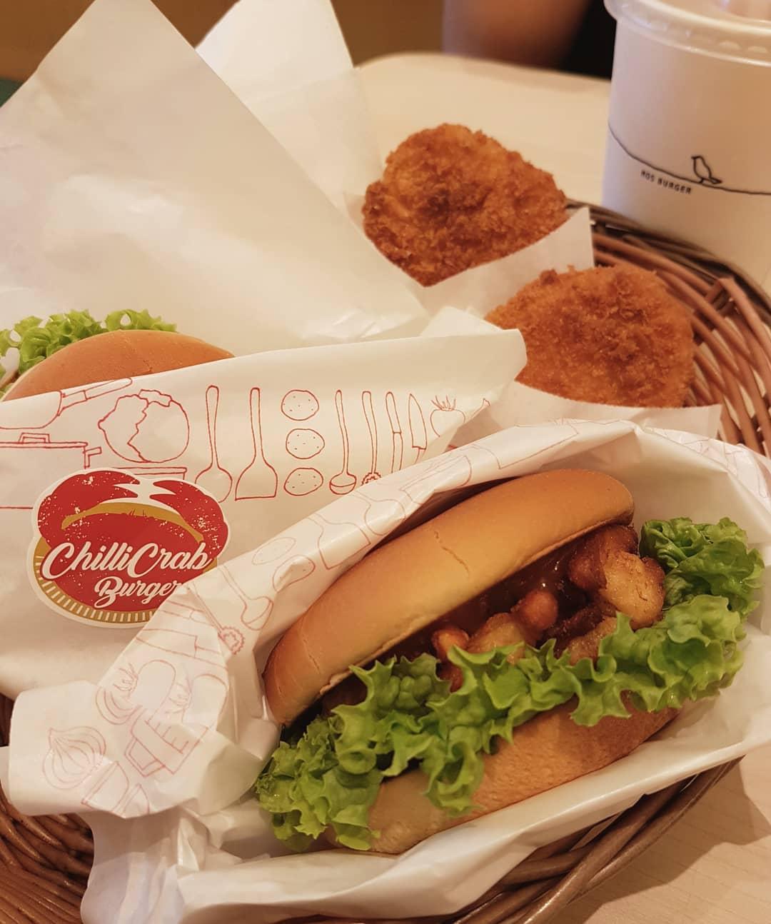 mos burger chilli crab burger
