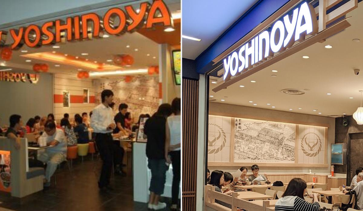yoshinoya - longest surviving fast food chains in Singapore