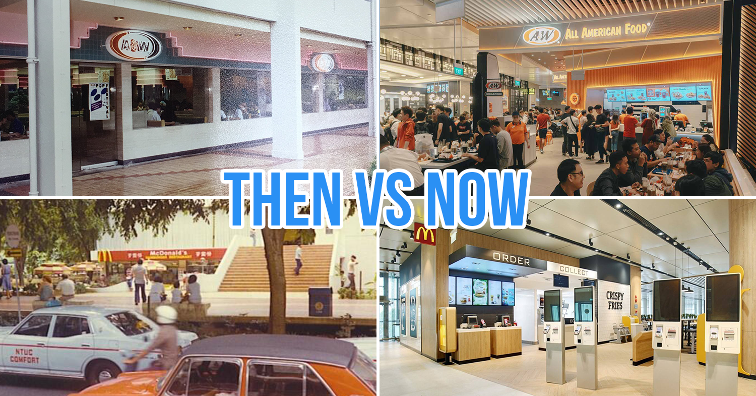 cover image - longest surviving fast food chains in Singapore