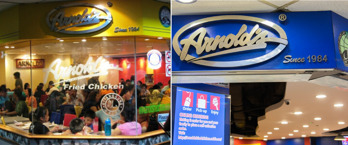 arnold's singapore - longest surviving fast food chains in Singapore