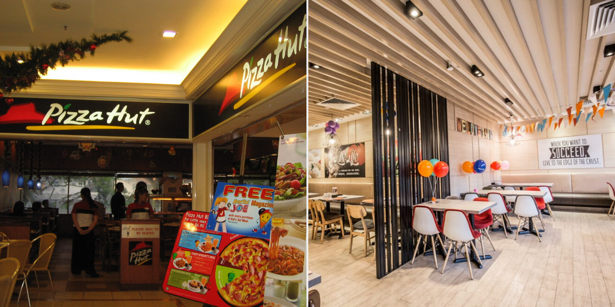 pizza hut - Longest surviving fast food chains in Singapore