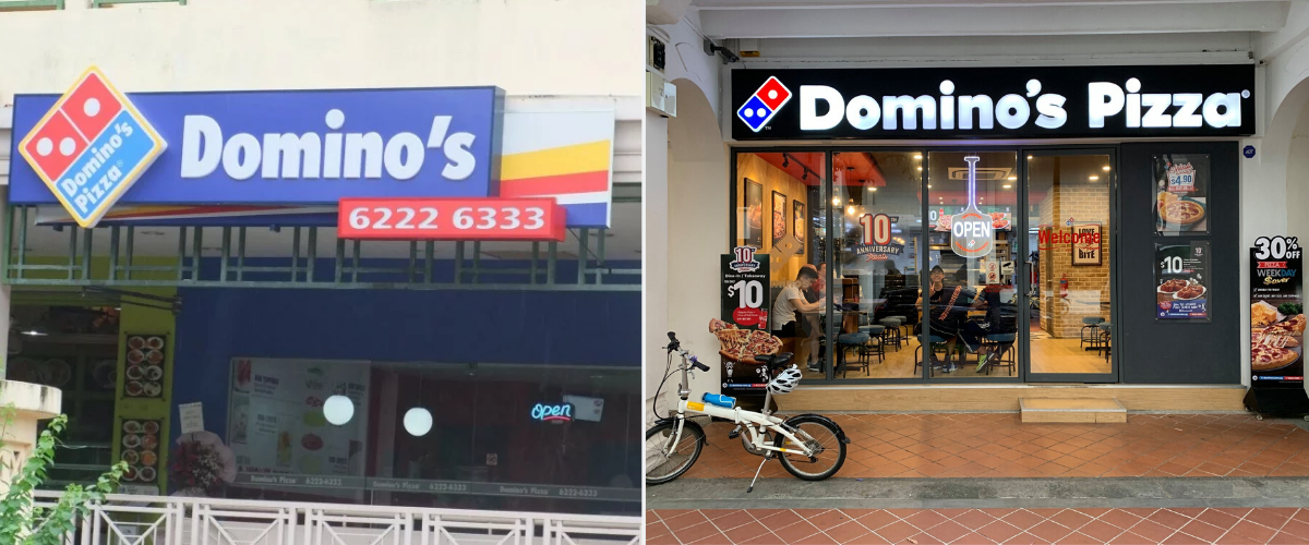 domino's pizza - Longest surviving fast food chains in Singapore