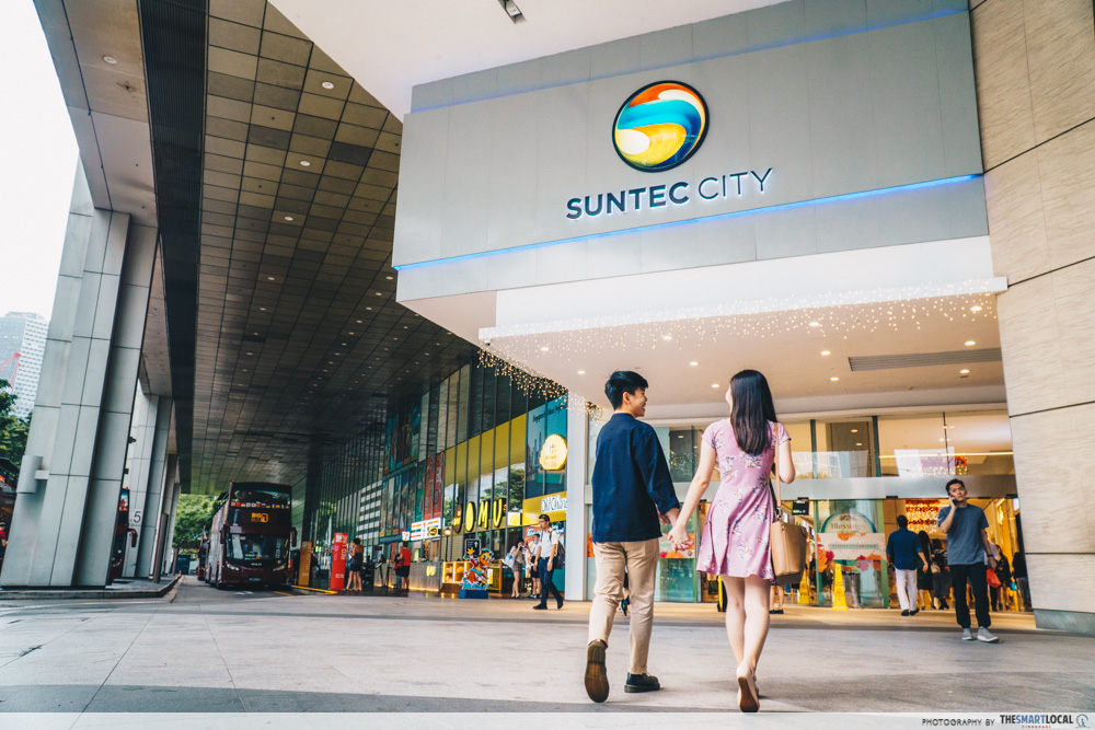 suntec city entrance