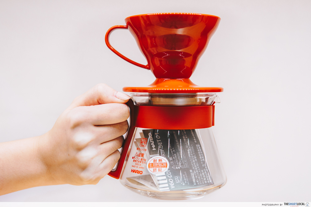 TOKYU HANDS' Hario V60 Coffee Dripper Set