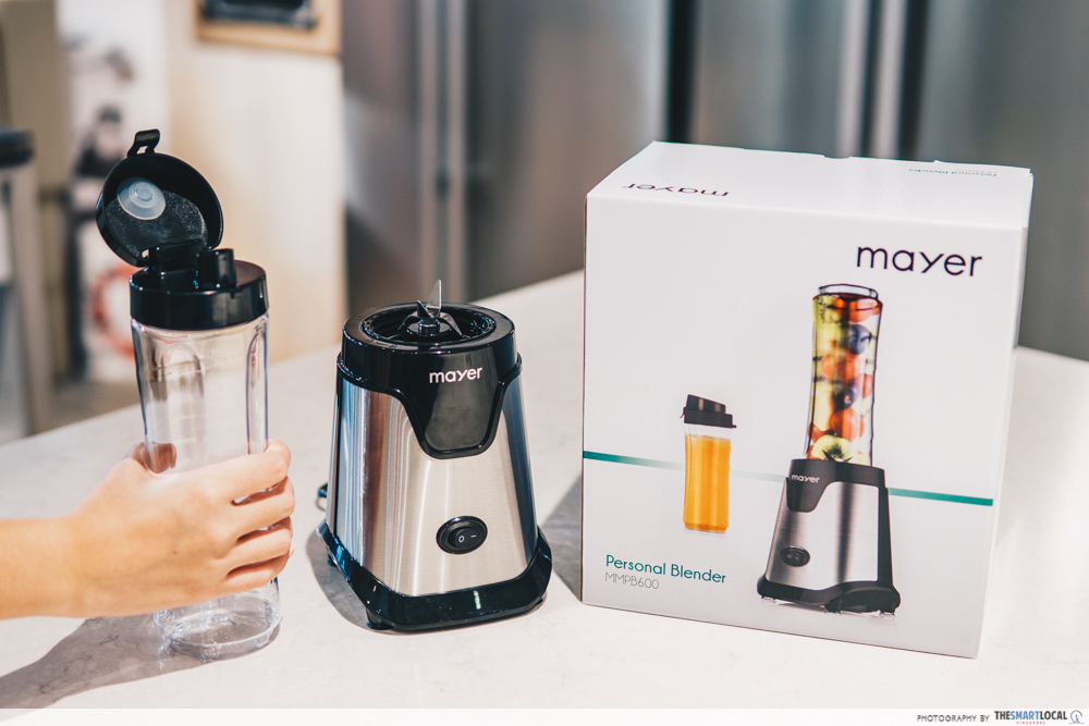 mayer 2-in-1 personal blender & bottle