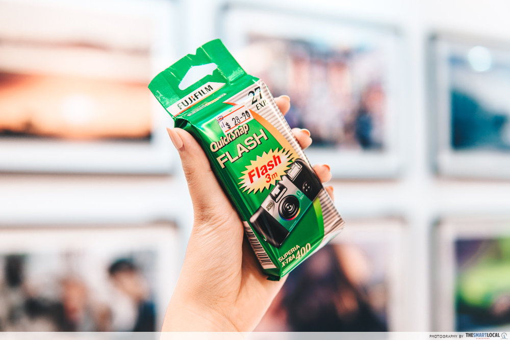 Fujicolor QuickSnap Superia disposable camera