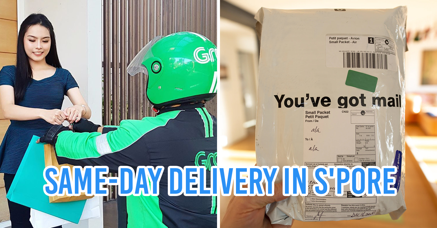 7 Courier Delivery Services In Singapore From Only 6 With Same Day Delivery Options