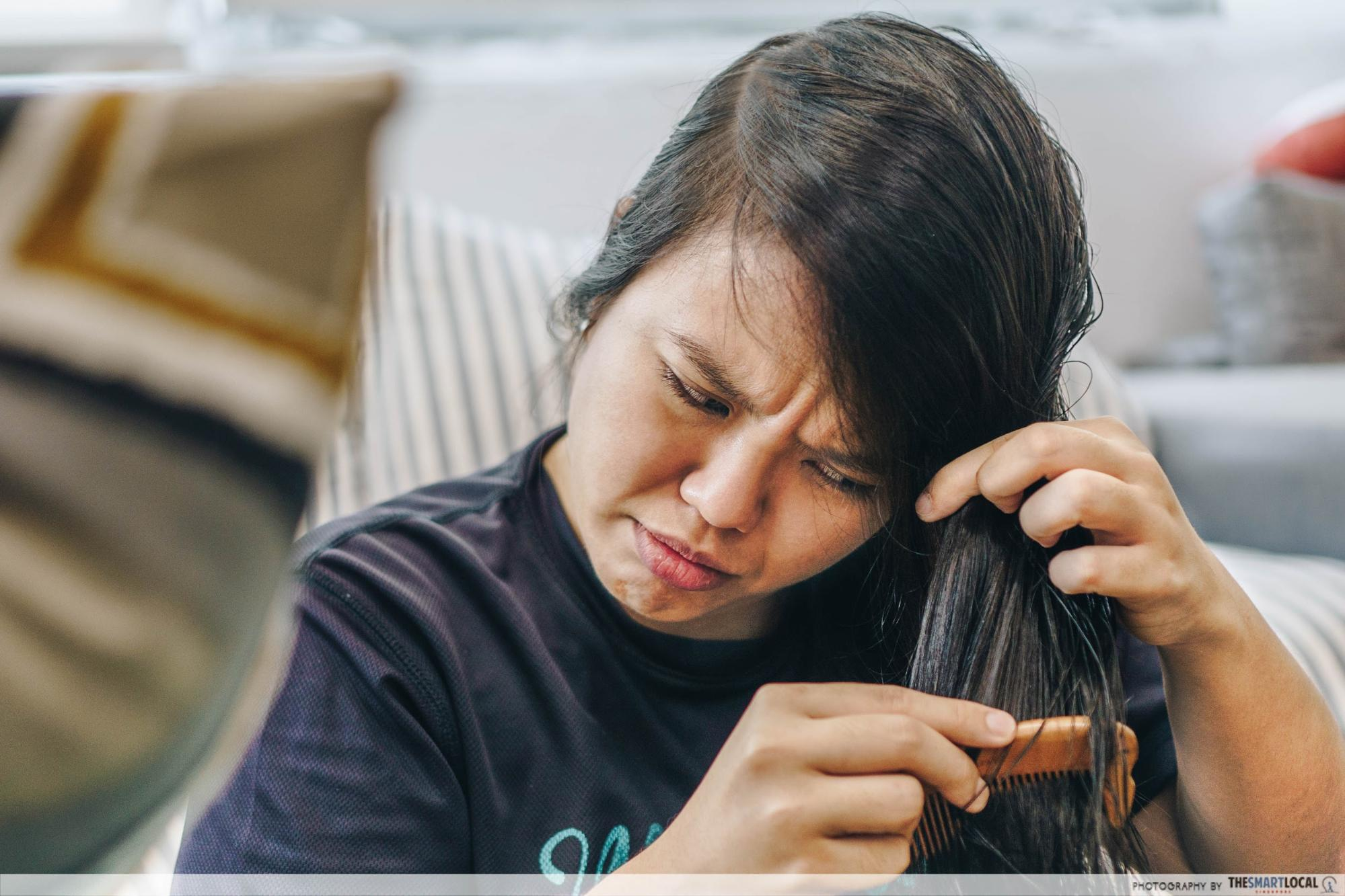 phs hairscience hair washing mistakes wet