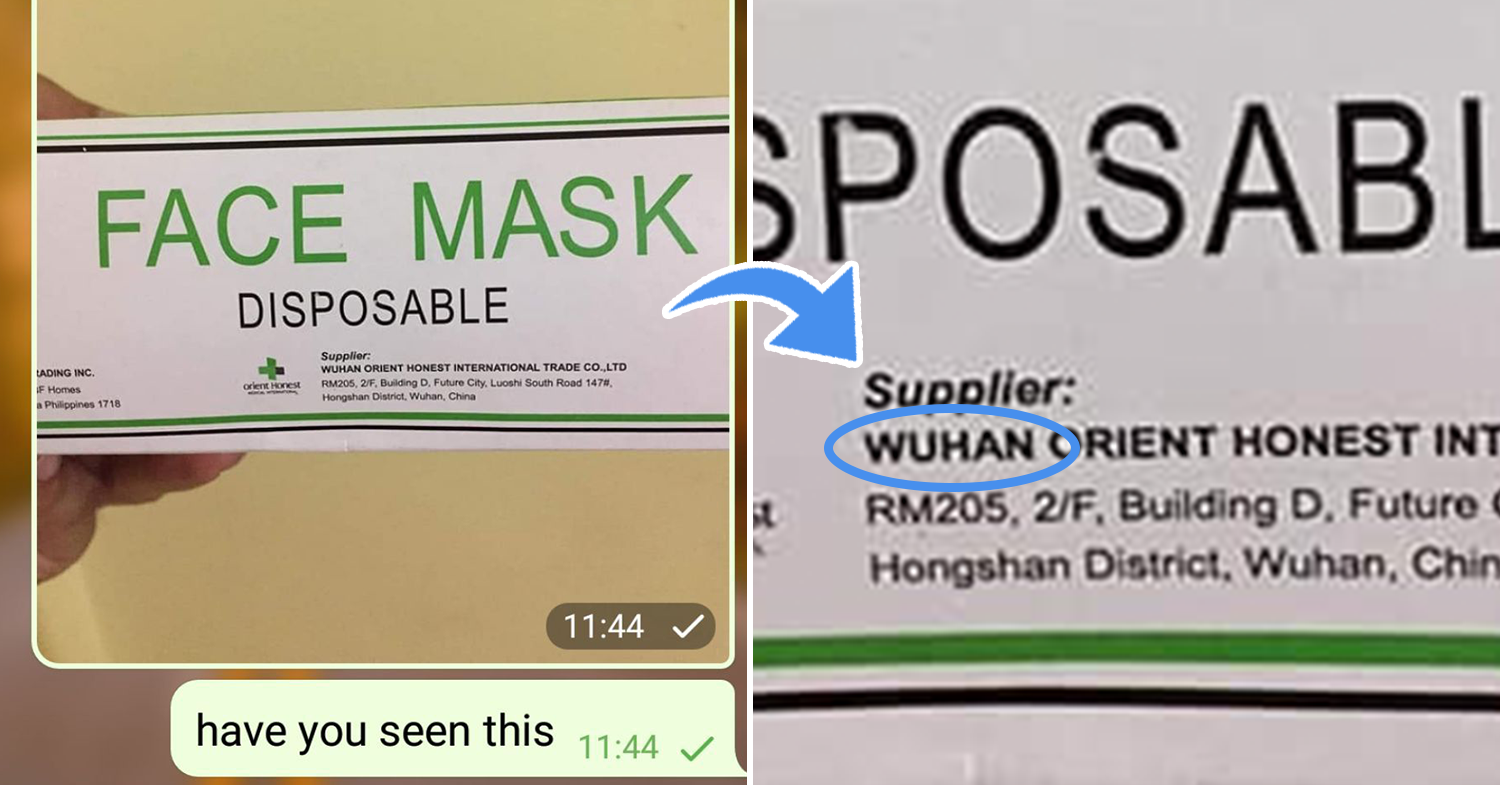 wuhan virus message singapore
