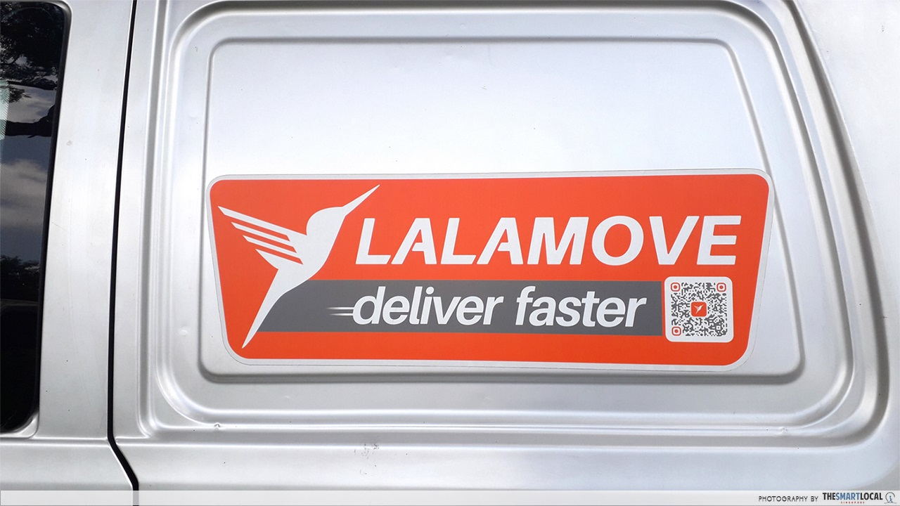 lalamove van decal sticker
