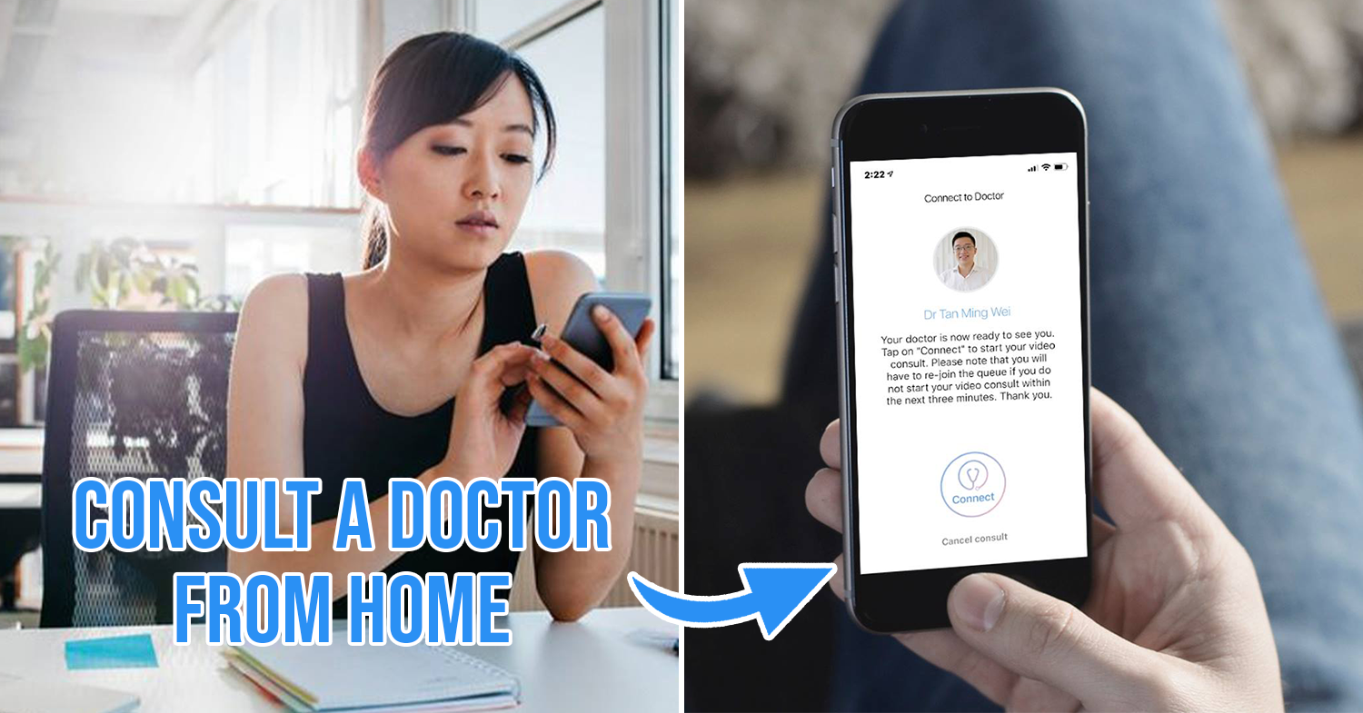 telemedicine cover image: Woman consulting a doctor from home