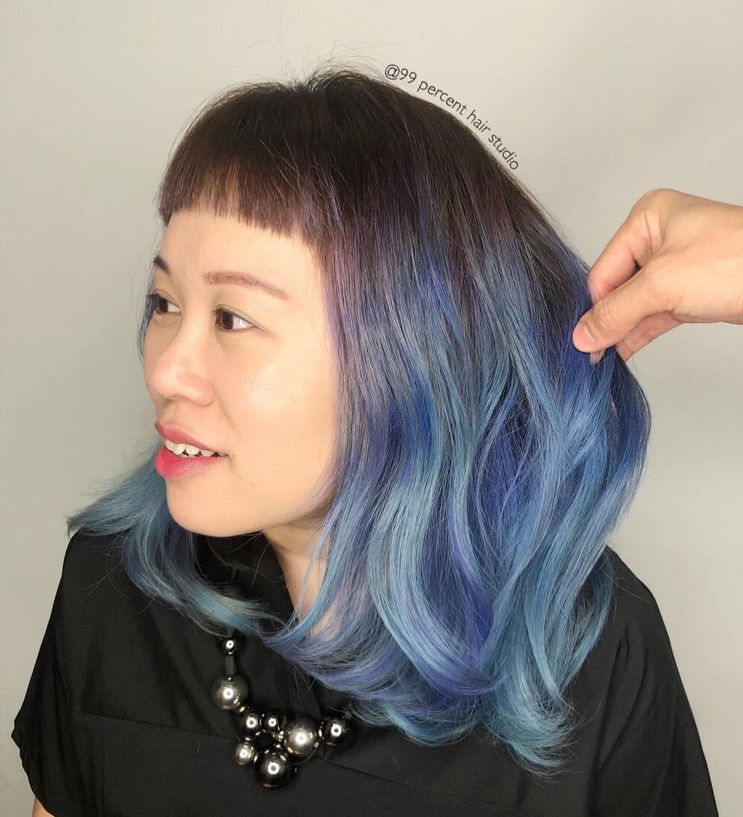 99 Percent Hair Studio Fringe Cut