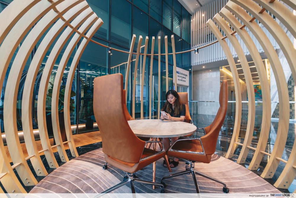 Changi Business Park - lobby