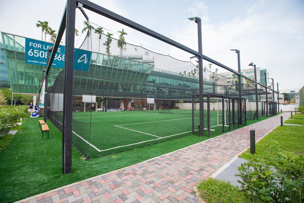 Changi Business Park - futsal court